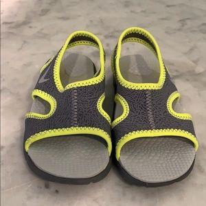 Boys Nike Toddler Sandals, Size 10